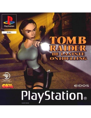 Tomb Raider The Last Revelation - PSX